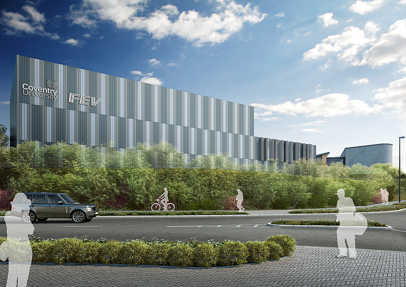 Fev And Coventry University To Build Low Carbon Technology Center In Uk Fev Press Release