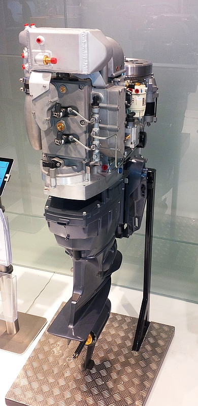 Diesel Outboard Motor : Fev and neander motors ag develop world s first turbo